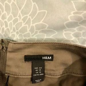 H&M Skirts - H&M olive pencil skirt